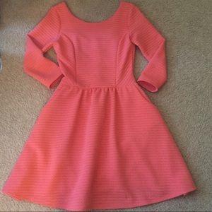 Francesca's Collection Coral Dress